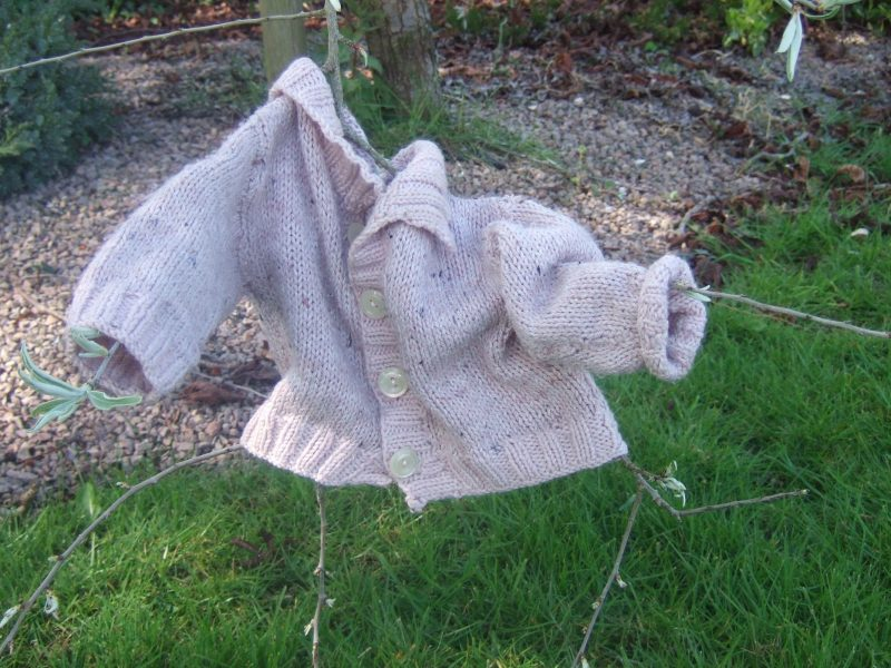 clothes on things_grey cardigan