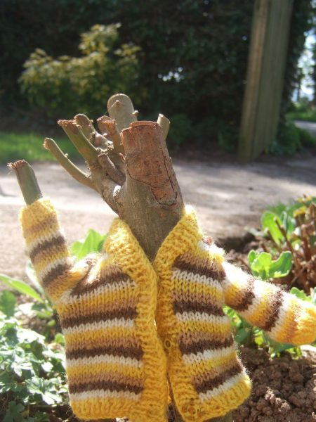 clothes on things_yellow cardigan