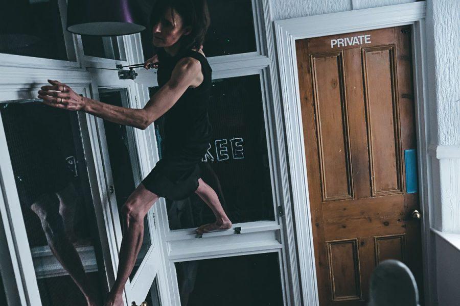 houseMADE performance - photo credit Pete Evans_HM climbing hallway 1
