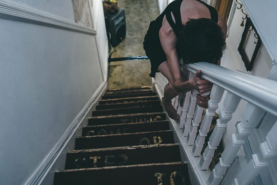 houseMADE performance - photo credit Pete Evans_HM stairs 3